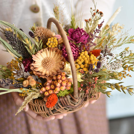 workshop:2/29(土) 10:00-12:00 basket arrangement