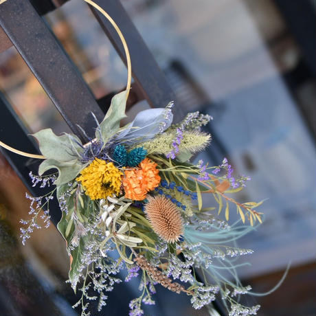 workshop:8/25(日) 16:00-18:00   Flower ornament