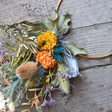 workshop:8/25(日) 13:00-15:00   Flower ornament