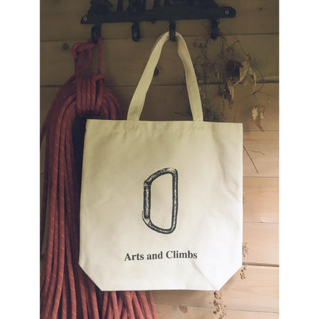 Arts and Climbs Canvas Tote