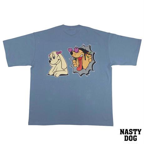 NastyDog/ Love Dog Tee AcidBlue