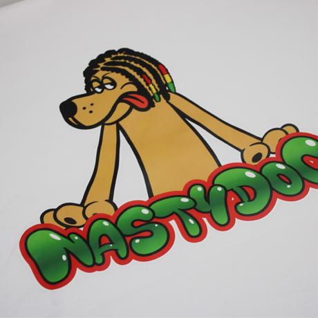 NastyDog/Character Hoodie White