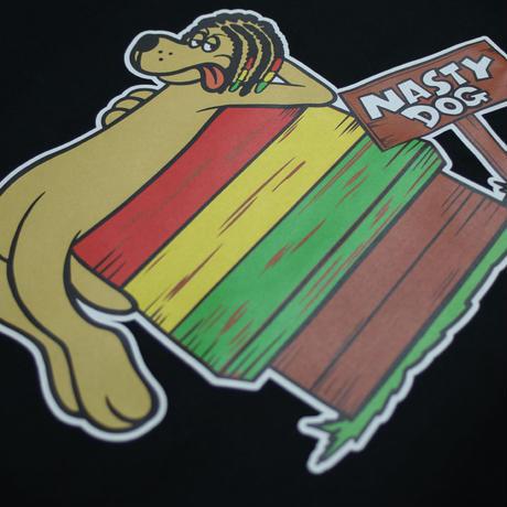 NastyDog/ DogHouse Tee Black