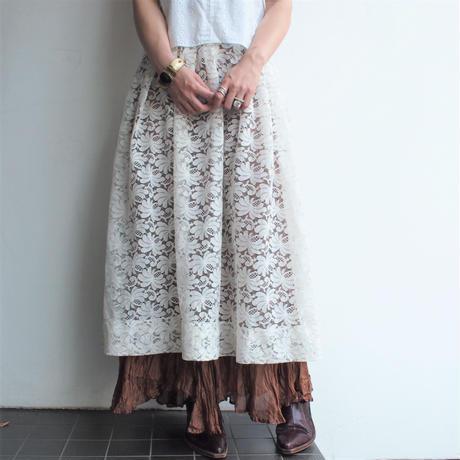 All Lace flea skirt
