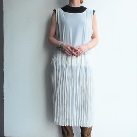 Made in USA See-though tulle dress