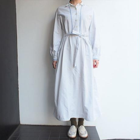 France 〜1930's cotton dress
