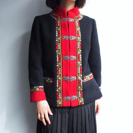 Norway Wool short coat