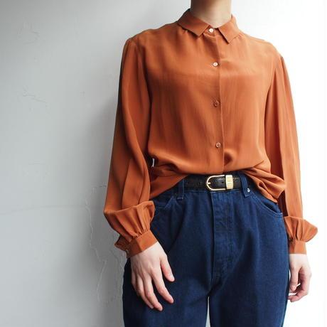 Calvin Klein  silk  blouse orange