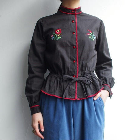 Embroidery East europe blouse