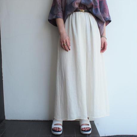 Made in Italy Linen Flea skirt
