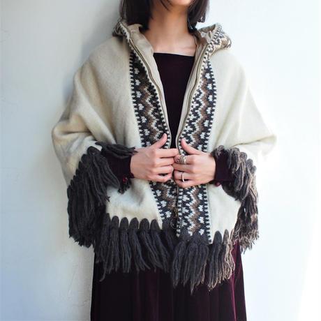 Made in Ireland Nordic cape coat
