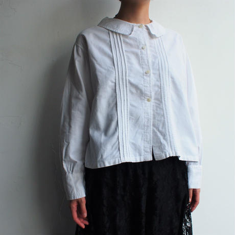 1930's France antique cotton blouse
