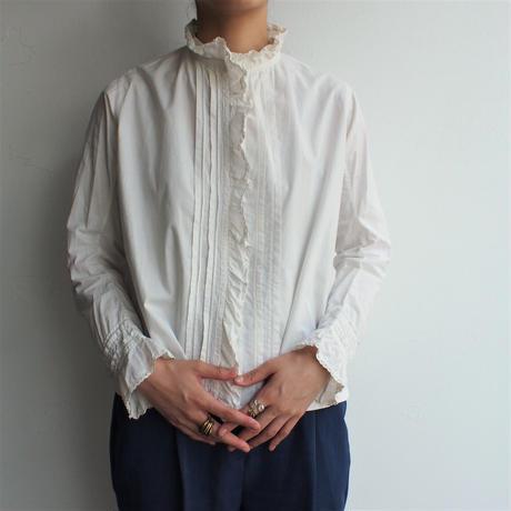 1920's France cotton antique blouse