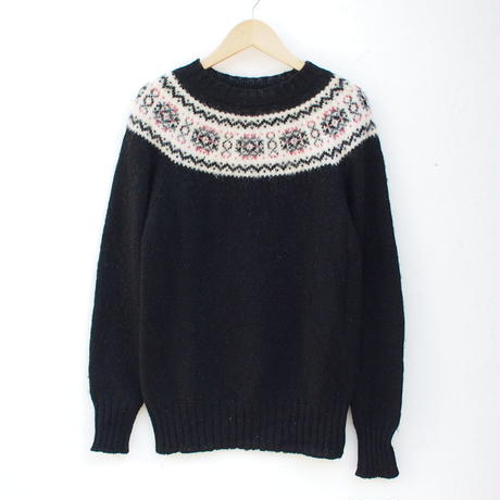 made in Scotland  wool knit