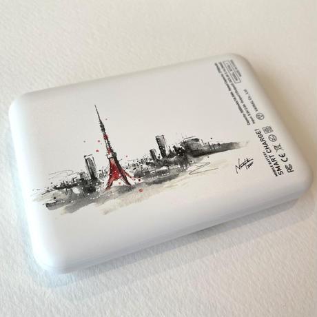 伊藤ナツキ モバイルバッテリー(※裏面 東京タワー)5000mAh