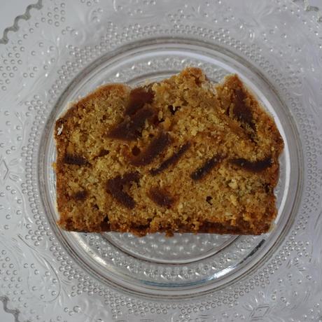 キャラメルアップルパウンドケーキ