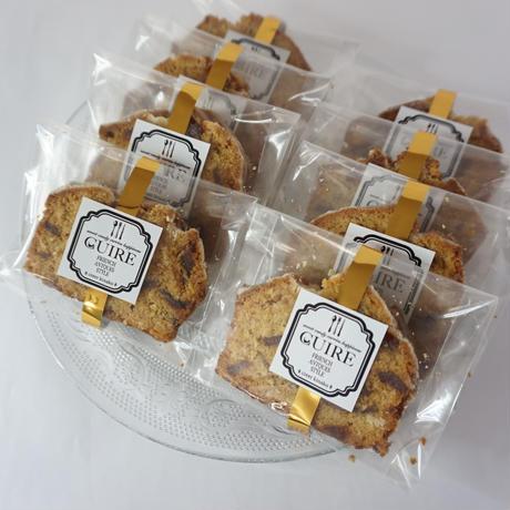キャラメルアップルパウンドケーキ 個包装タイプ 8個入セット