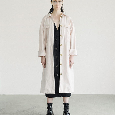 C002 [1/2] HALF - Pocket Long Coat
