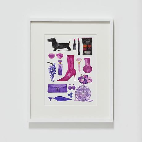 Colors(purple) /natsu yamaguchi_2019