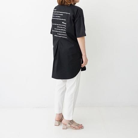 【WEB限定商品】バックロゴデザイン切り替えTシャツ[3011400]
