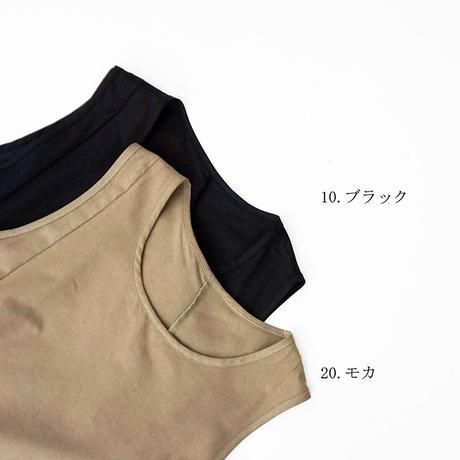 【WEB限定商品】麻混タックデザインノースリーブ[3016700]