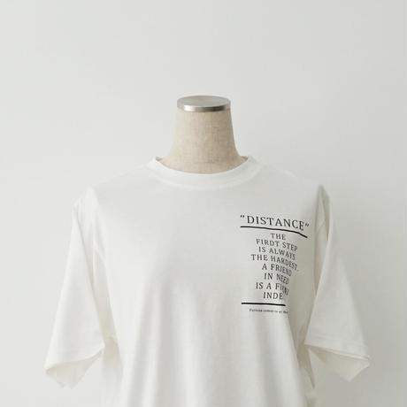 【特別提供品】サイドボタンスリットロゴTシャツ[1281300]