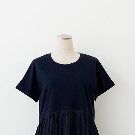 【WEB限定商品】布帛切り替えワンピース[3016702]