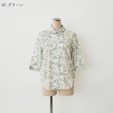 【特別提供品】日本製花柄シャツ[1363872]