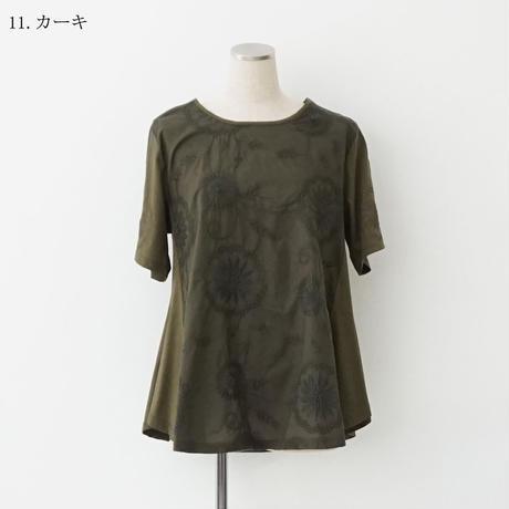 【特別提供品】花柄刺繍カットソー[3011306]