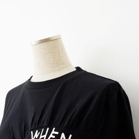 【WEB限定商品】英字プリントデザインTシャツ[3011398]