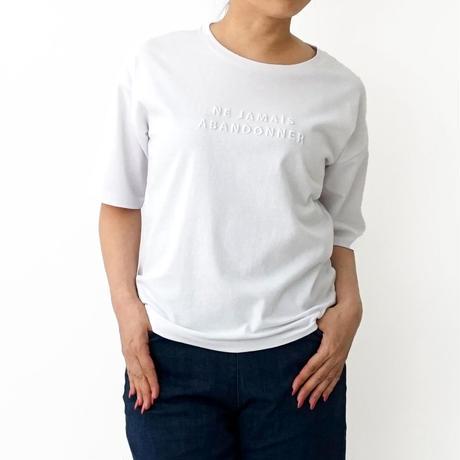 ロゴ刺繍入りTシャツ[1281372]