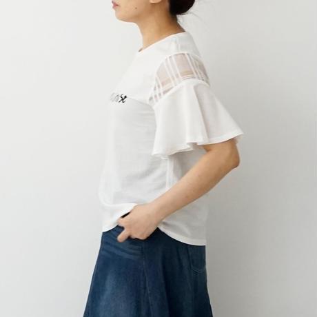 【WEB限定商品】ロゴデザイン切り替えTシャツ[3011399]