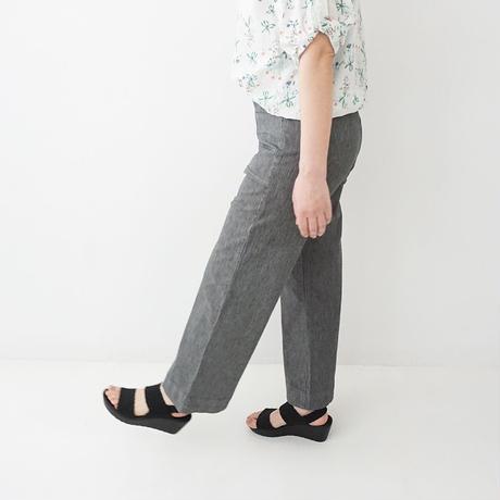 【特別提供品】ヒッコリーワイドパンツ[3197988]