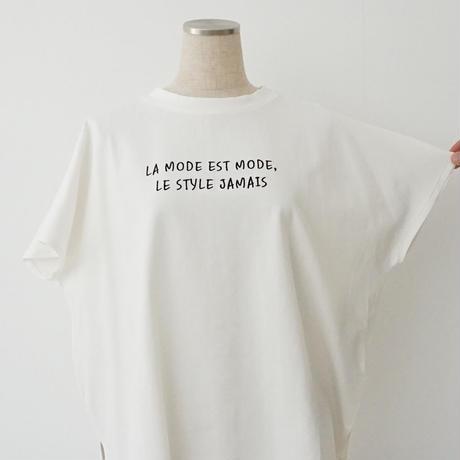 【特別提供品】刺繍ロゴシルケットTシャツ[1281324]