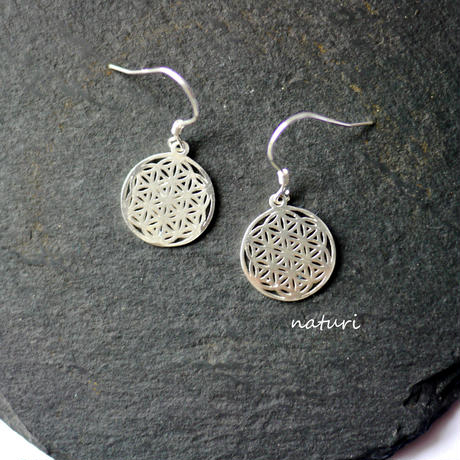 【fleur】sv925 flower of life pierce Ⅱ (2pcs)