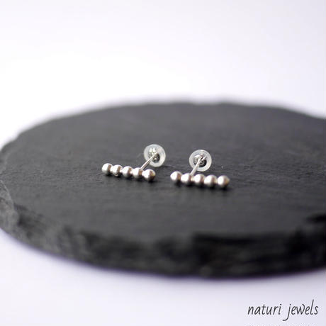【sphere】sv925 kyuu pierce (2pcs)