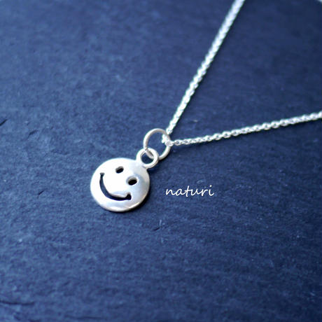 【sourire】sv925 smile necklace