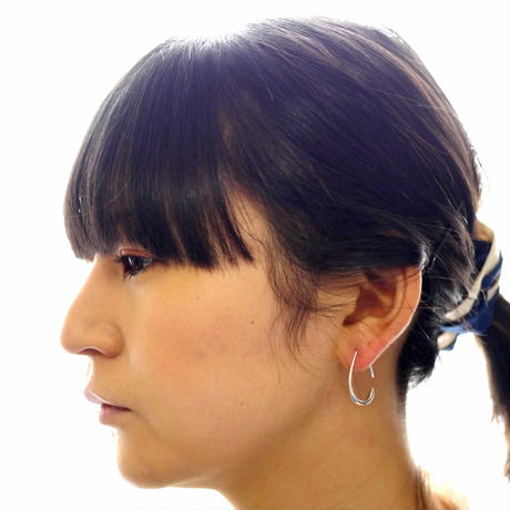 【rosee】sv925 drop pierce Ⅱ (2pcs)