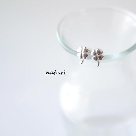 【trefle】sv925 clover pierce (2pcs)