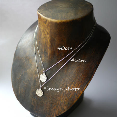 【sourire】sv925 smile necklace