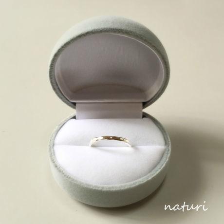 【pianeta】sv925 pearl × garnet ring