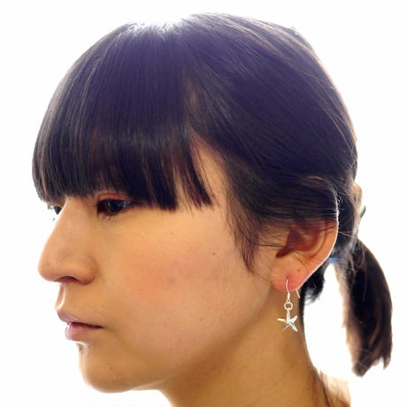 【asterie】sv925 hitode pierce (2pcs)