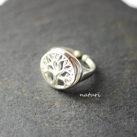 【arble】sv925 tree of life ring