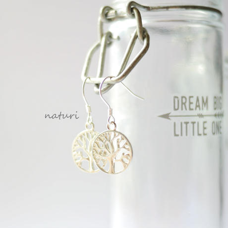 【arble】sv925 tree of life pierce (2pcs)