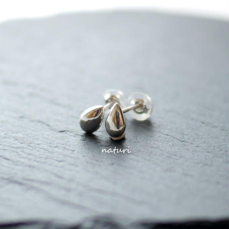 【rosee】sv925 drop pierce Ⅲ (2pcs)