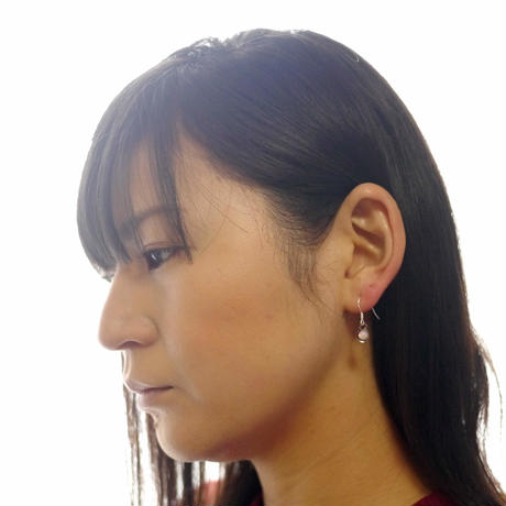 【pianeta】glass opal pierce (2pcs)