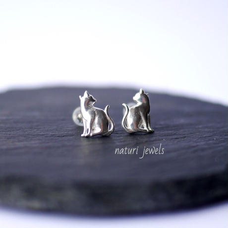 【gatto】sv925 cat pierce Ⅱ (2pcs)