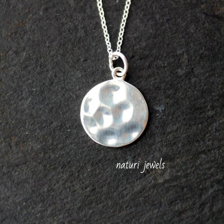 【luna】sv925 moon necklace