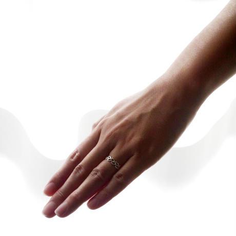 【feuille】sv925 leaf ring Ⅱ