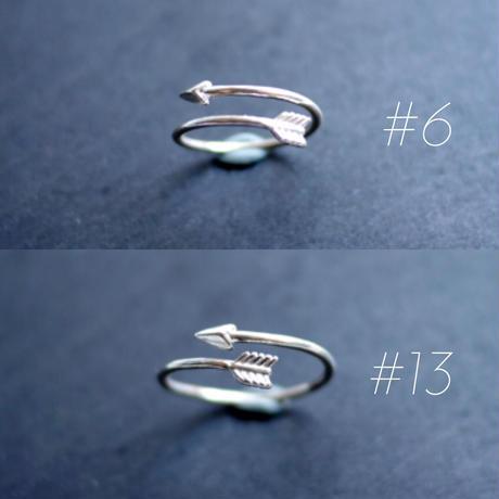 【freccia】sv925 arrow ring